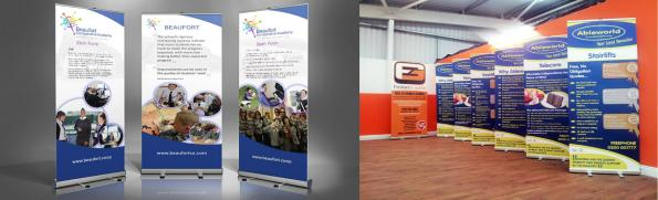 Exhibition Stands, Pull Up Banners - Evans Graphics